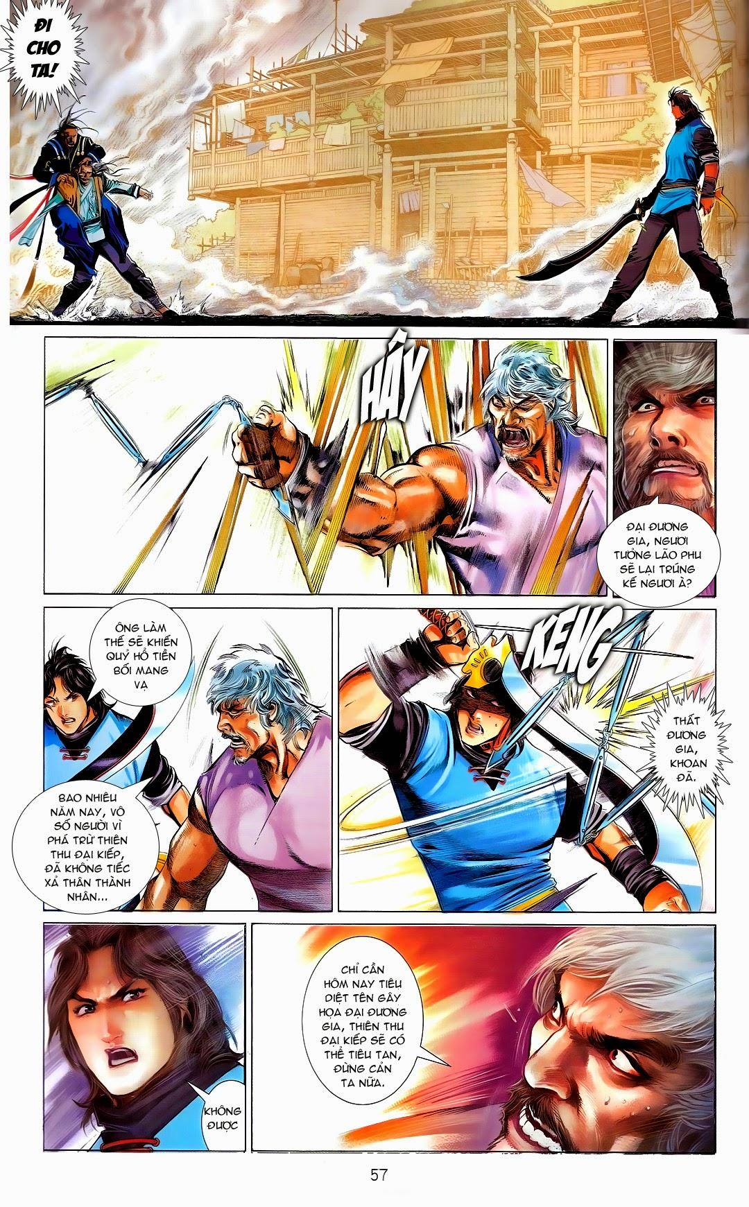 Phong Vân chap 669 Trang 57 - Mangak.info