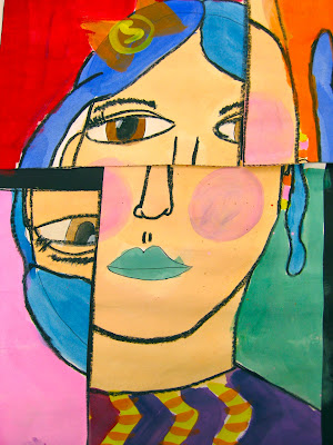Picasso Self Portraits For Kids Cubist self-portraits