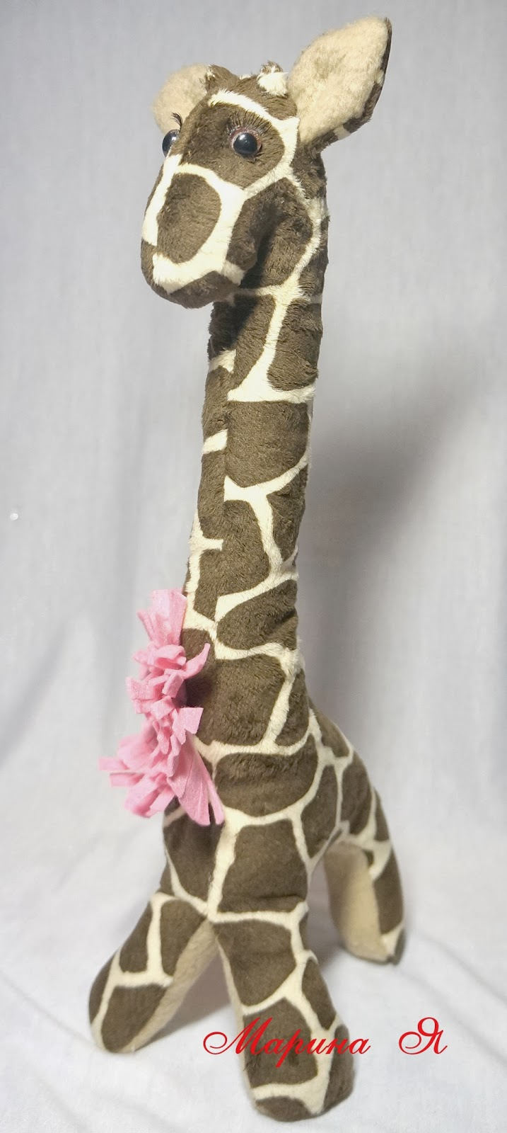 Как сшить жирафа своими руками мастер класс 65