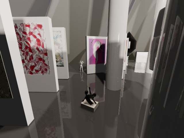 3d Exhibition Hall : Ana sofia a gomes d exhibition hall