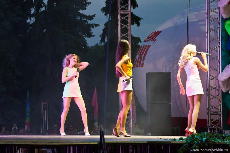 Концерт группы Фабрика. День города в Саранске.