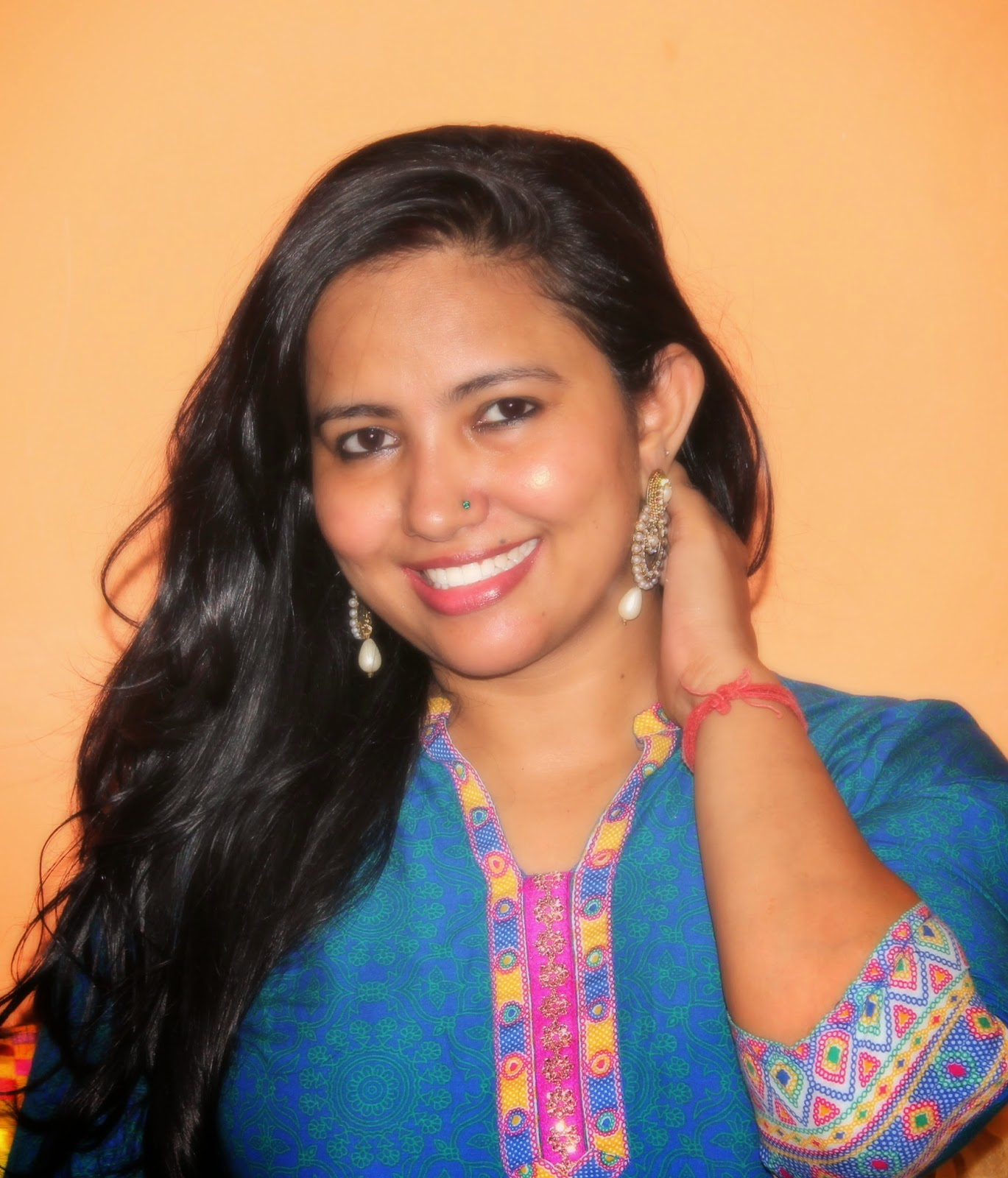 Indian Ethnic Look With Aurelia and W for Woman