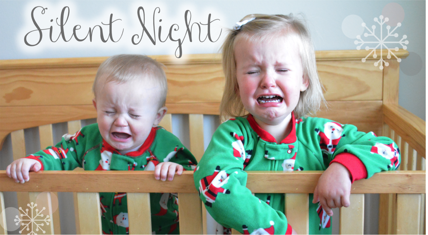 Teacher Designs: Not-So Silent Night Christmas Card