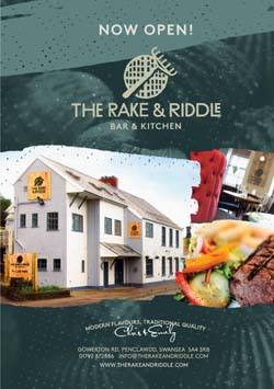 The Rake & Riddle, Penclawdd