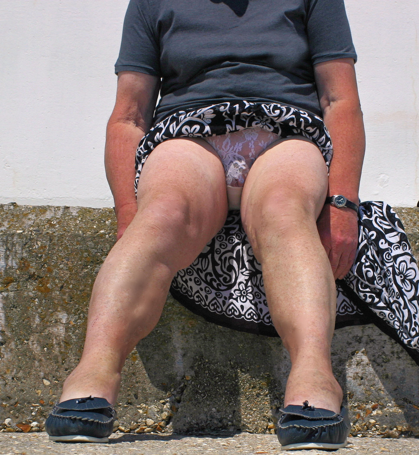 Upskirts bbw mature very nice