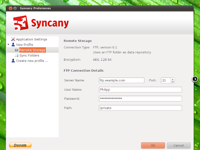 syncany cloud storage