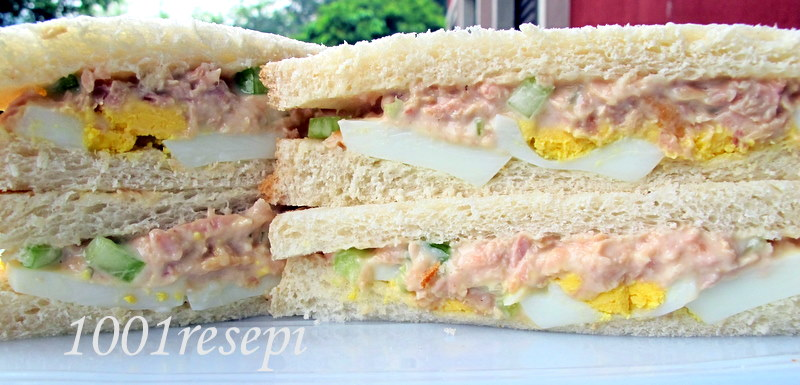 Koleksi 1001 resepi simple tuna and egg sandwich for Tuna and egg sandwich