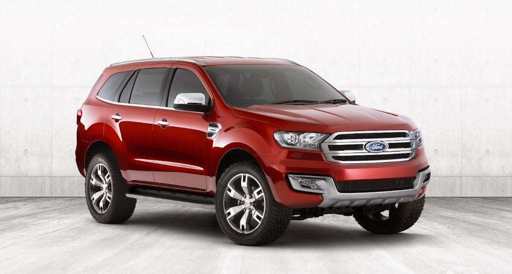 Bangkok Motor Show 2014: Ford Everest Concept Unveiled for ASEAN