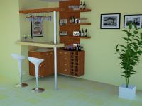 bar 3 Barzinho para Sala de Estar