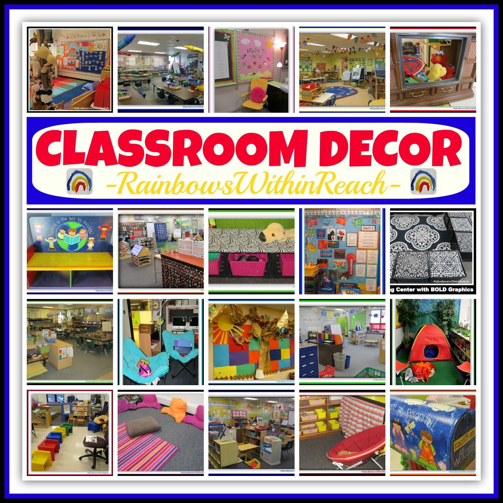 Classroom Decor S ~ Rainbowswithinreach spot