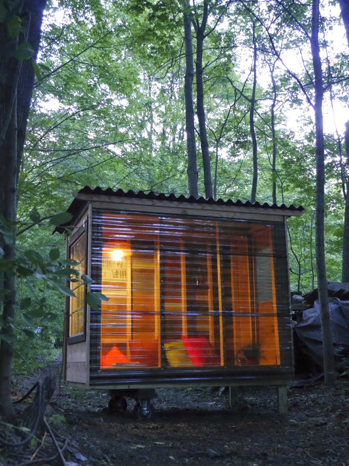 a tiny house study pod for an nyu. Black Bedroom Furniture Sets. Home Design Ideas