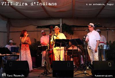Sonora Indiana a la Fira d'Indians de Begur