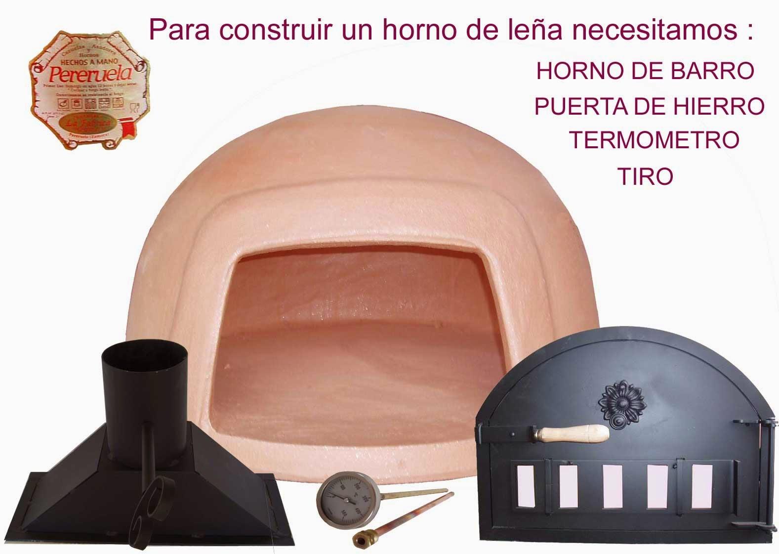 La fabrica de pereruela como hacer un horno for Como hacer un horno de lena de hierro