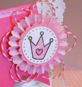 SRM Stickers Blog - DIY Princess Purse by Roberta - #DIY #kit #princess #purse #twine #stickers