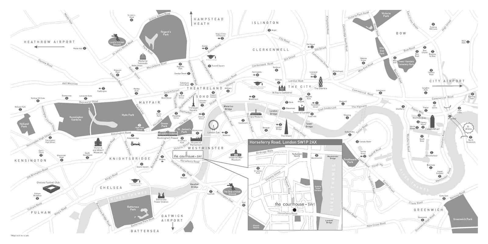 倫敦海外房地產投資地點