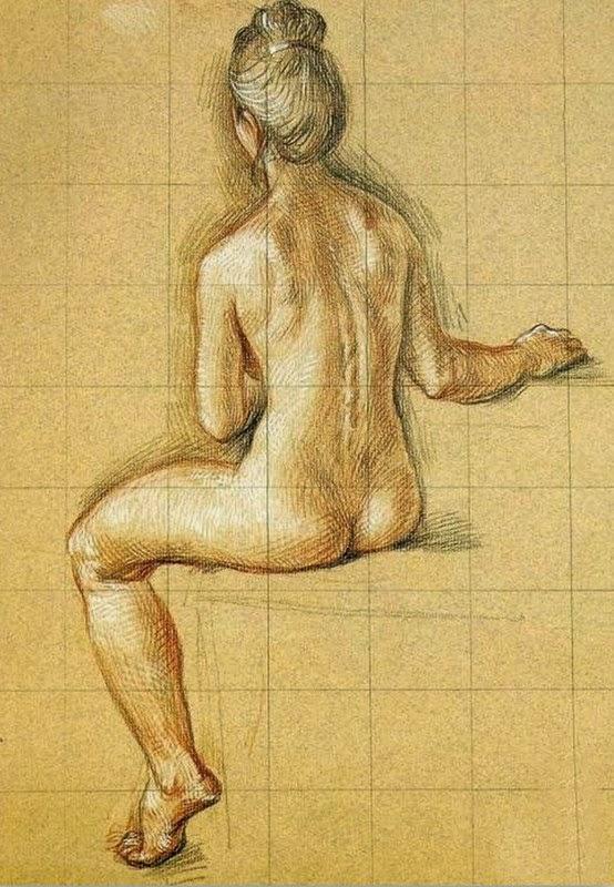 desnudes-a-lapiz