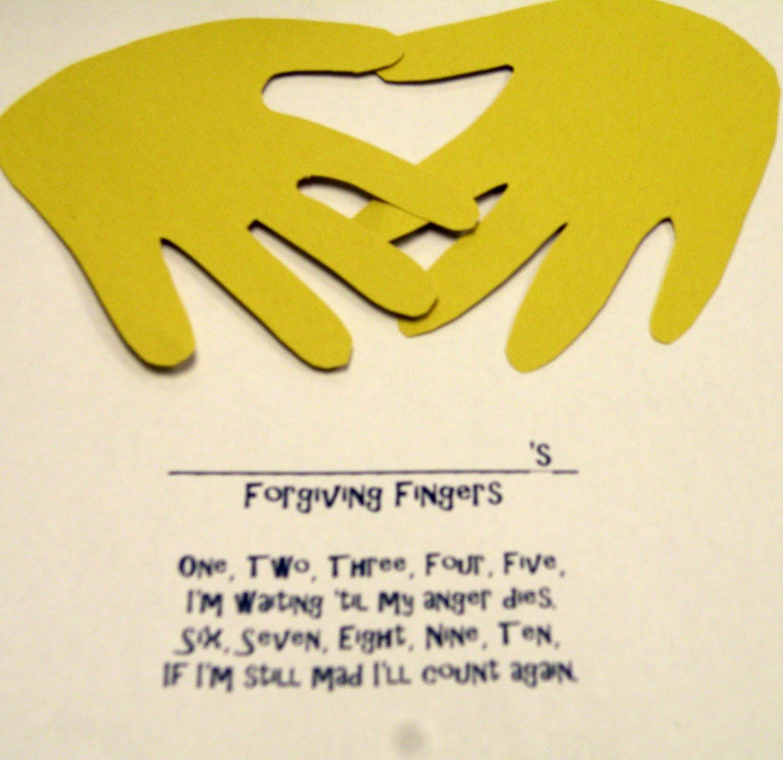 Childrens Forgiveness Bible Crafts