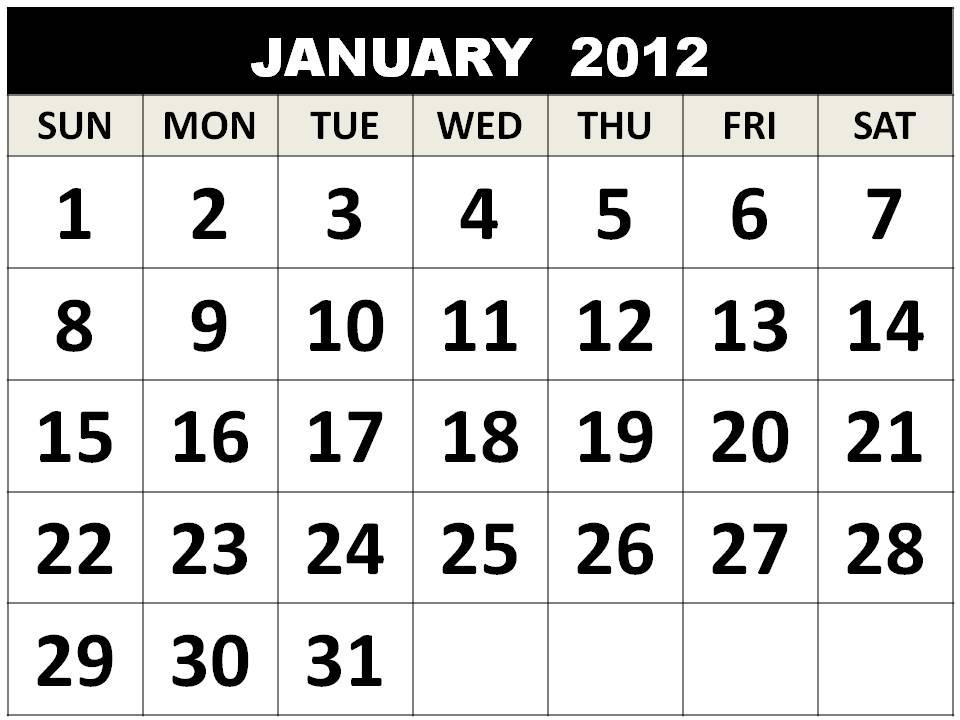 january calendar 2012. info January+calendar+2012