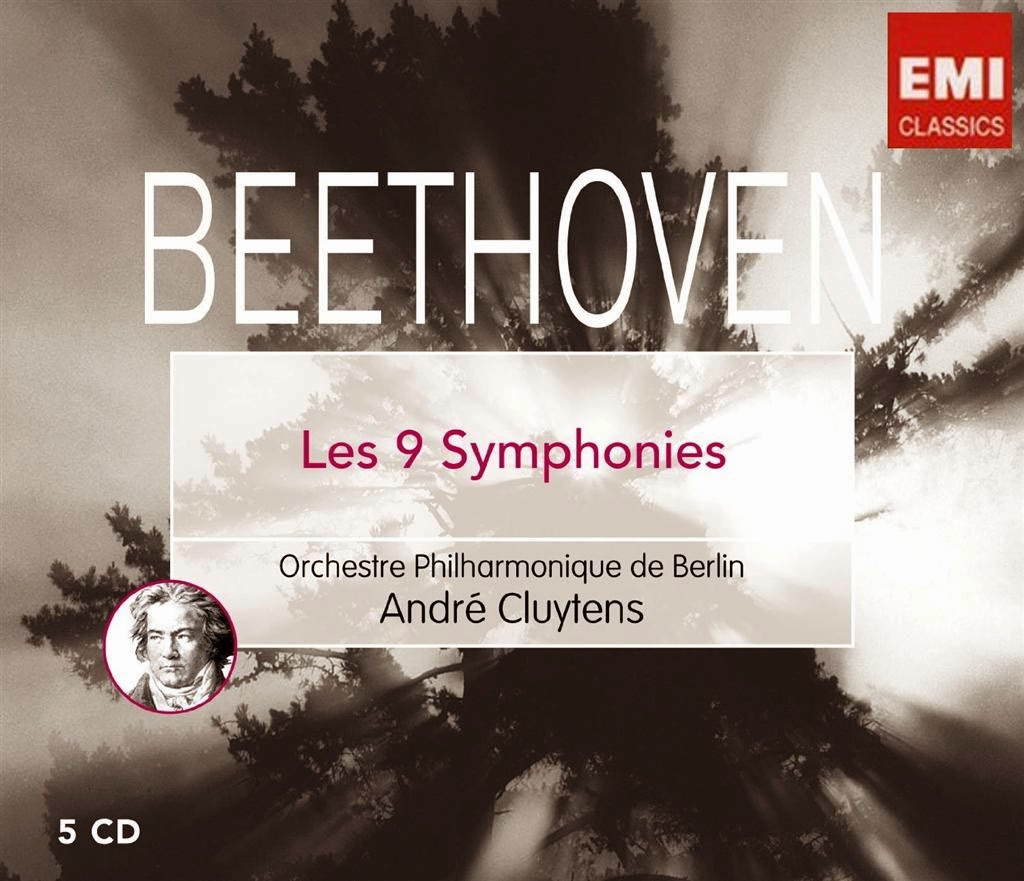 Beethoven. Integral Sinfónica. Oberturas. Cluytens. Orquesta Filarmónica de Berlín. 1957 a 1960.