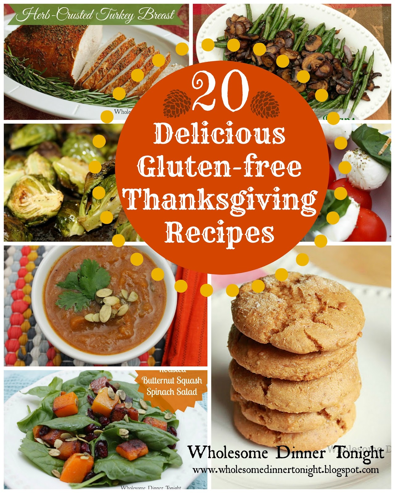 ... Delicious Gluten-free Thanksgiving Recipes {Gluten-free, Thanksgiving