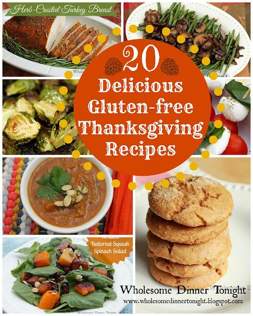... Delicious Gluten-free Thanksgiving Recipes {Gluten-free, Thanksgiving