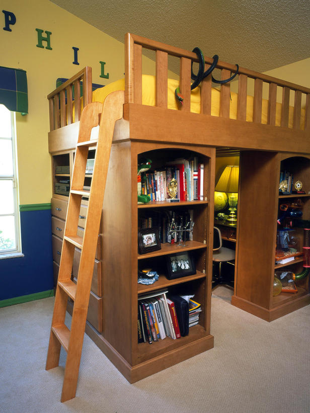 Rent to blog cut the clutter inspiring ideas for for Boys loft bedroom ideas