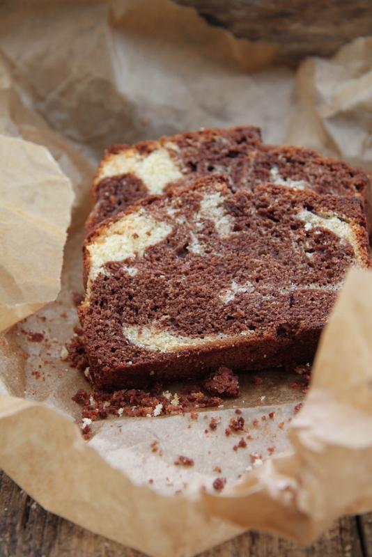 Babka marmurkowa z dwóch czekolad