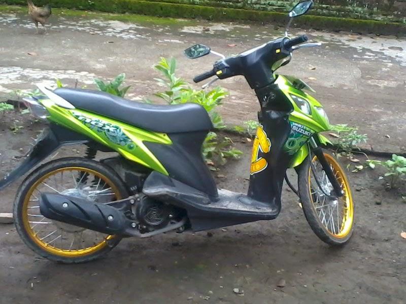 Modifikasi Motor Suzuki Nex Ring 17