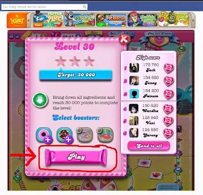 tutorial Cara Main Candy Crush Saga