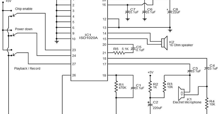 simple telephone recorder circuit schematic diagram wiring diagram yersound recorder circuit diagram using isd1016 wiring diagram go simple telephone recorder circuit schematic diagram