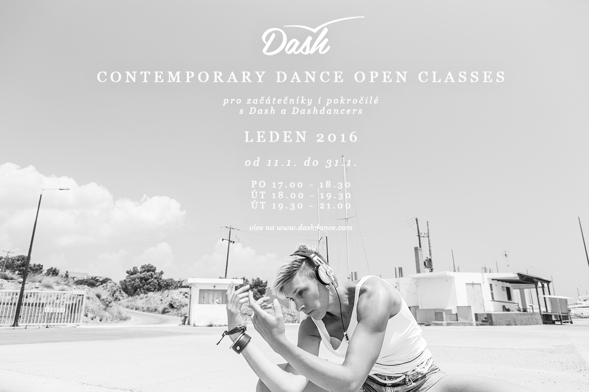 Contemporary dance open classes leden 2016