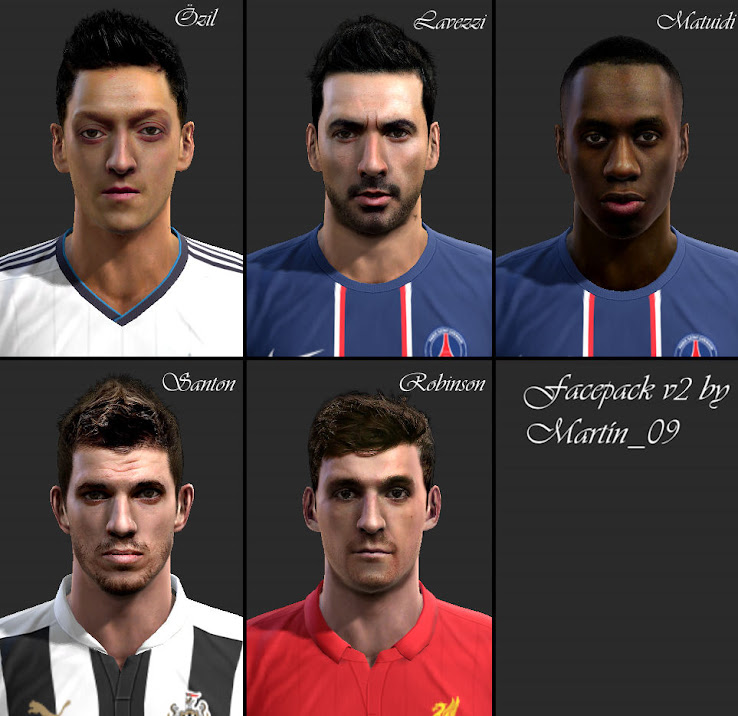 PES 2013 Facepack by Martín 09