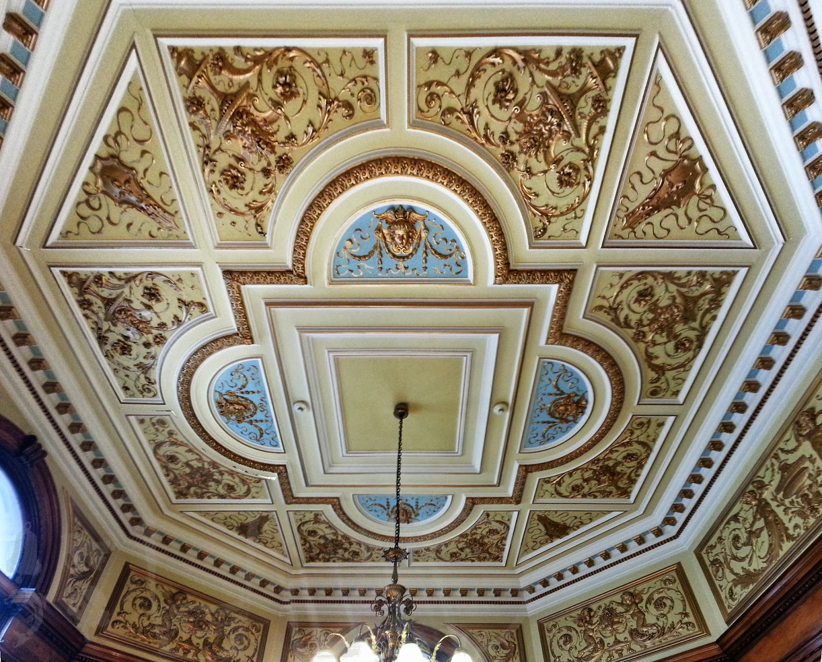 Octagonal Room,  City Chambers, Glasgow