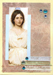 angel inspired card 2012