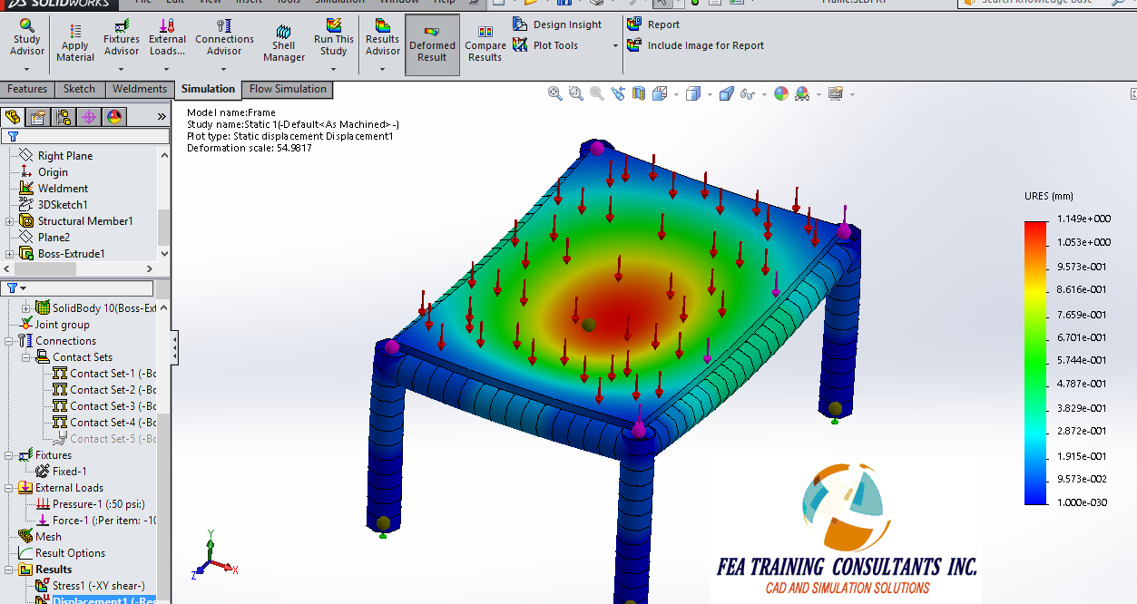 Solidworks technical tips solidworks videos solidworks promotion contact sets in solidworks simulation baditri Images