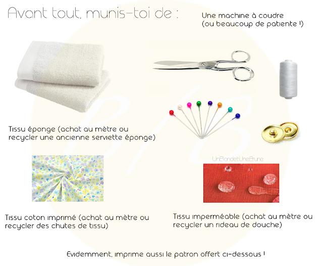 un blond une brune diy tuto serviettes hygi niques lavables. Black Bedroom Furniture Sets. Home Design Ideas