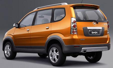 Daihatsu Xenia Facelift Car Design