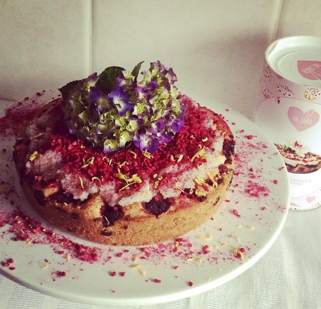 Lemon Raspberry Cake Recipe The Caker