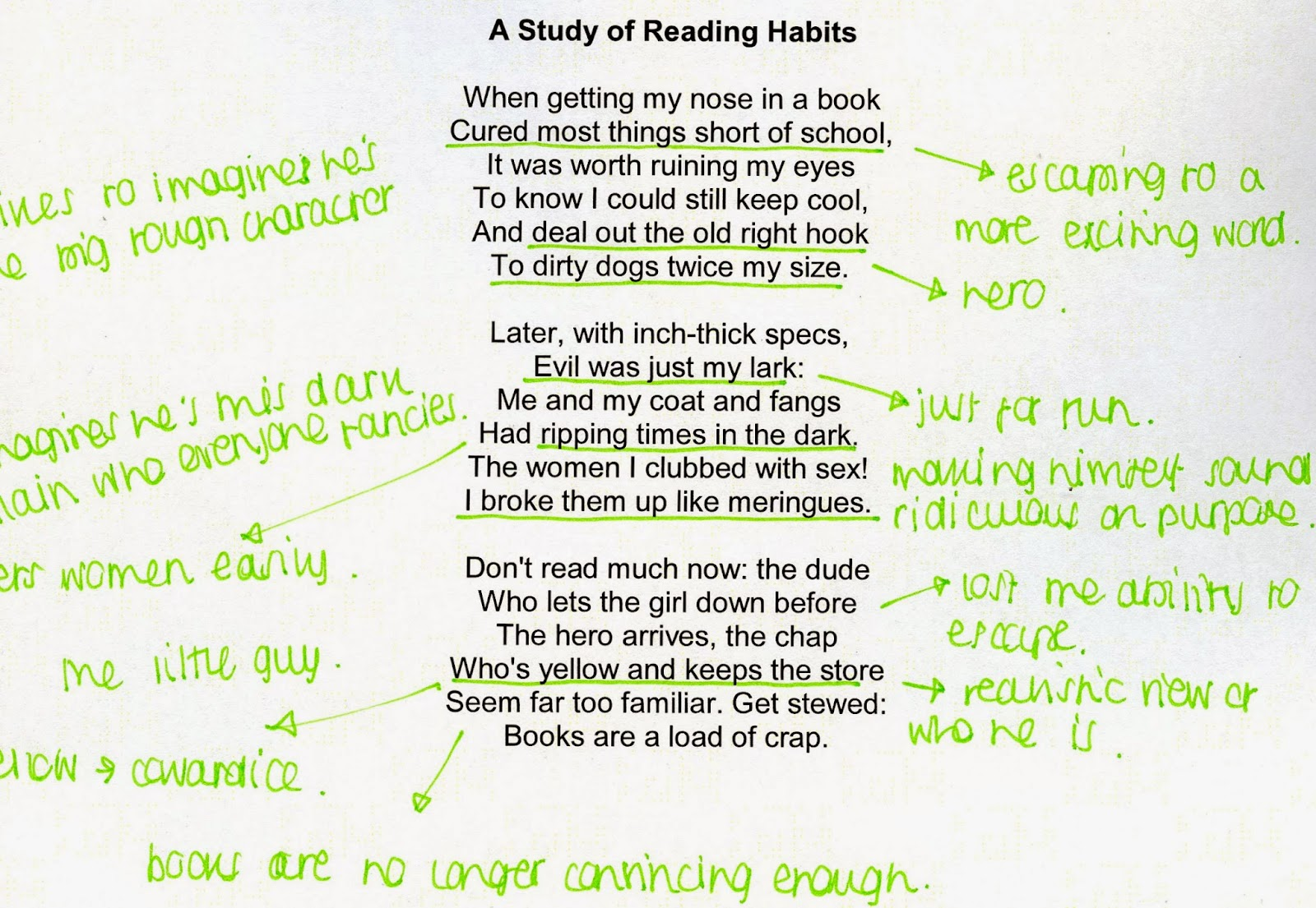 a study of reading habits analysis Reading habits among students and its effect on academic performance: a study of students of  investigation requires self-study to be followed by self-thinking and analysis self-study, otherwise referred to as reading at one's own accord, requires a habit, which is known as reading habit  good reading and study habits at present, due.