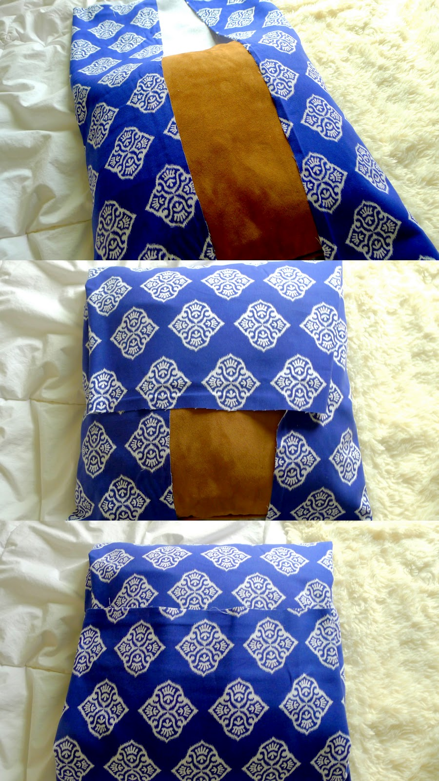 diy no sew pillow. Black Bedroom Furniture Sets. Home Design Ideas
