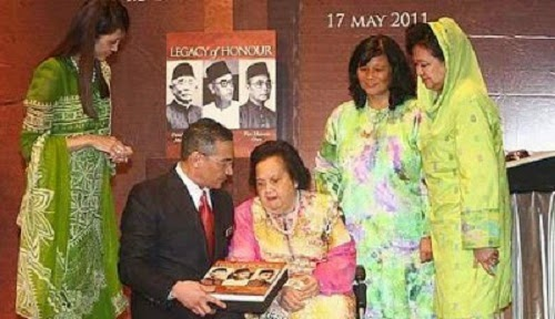 Bonda Datuk Seri Hisyamuddin Meninggal