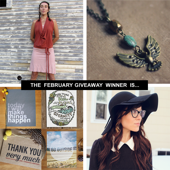 Bubby and Bean February Giveaway Winner