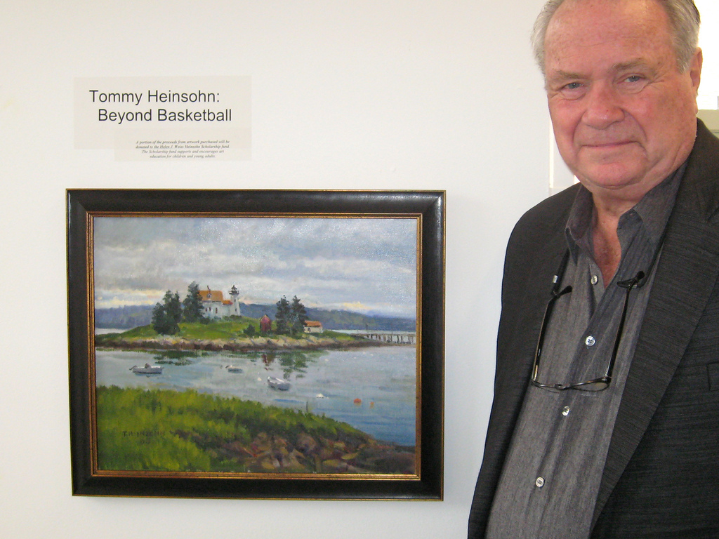 Did you know Tommy Heinsohn is an artist
