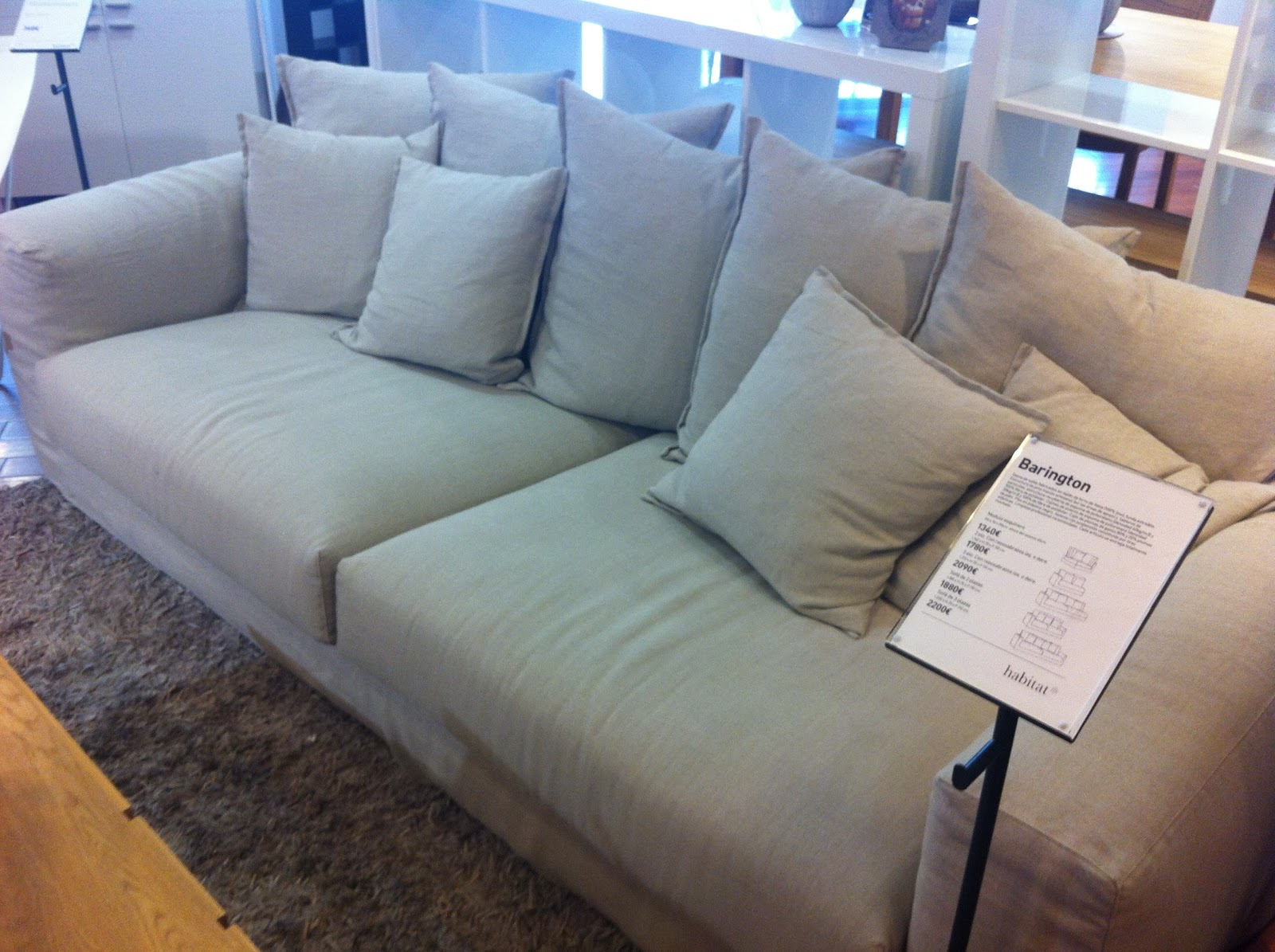 Tiendas sofas barcelona cool agora with tiendas sofas - Habitat muebles barcelona ...
