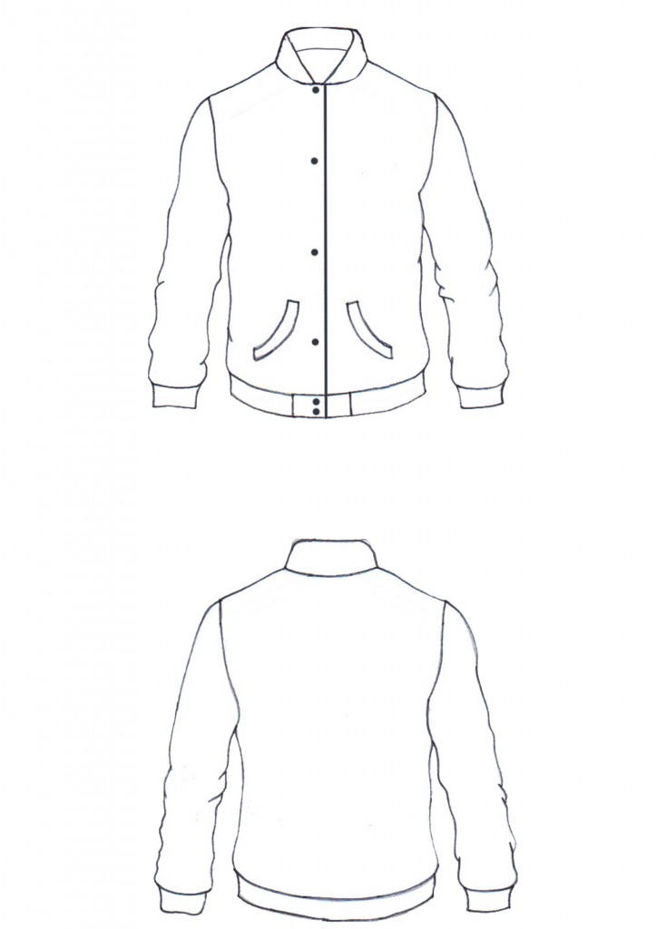 Baseball Jacket Template - Pl Jackets