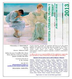 """Revista Literaria """"Pluma y Tintero"""" Nº 16 - Año III - Enero-Febrero 2013"""