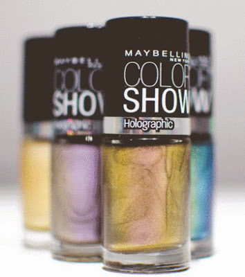 Maybelline Color Show Holographic Nail Polishes