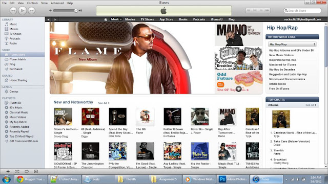Itunes Screenshot - Flame - The 6th