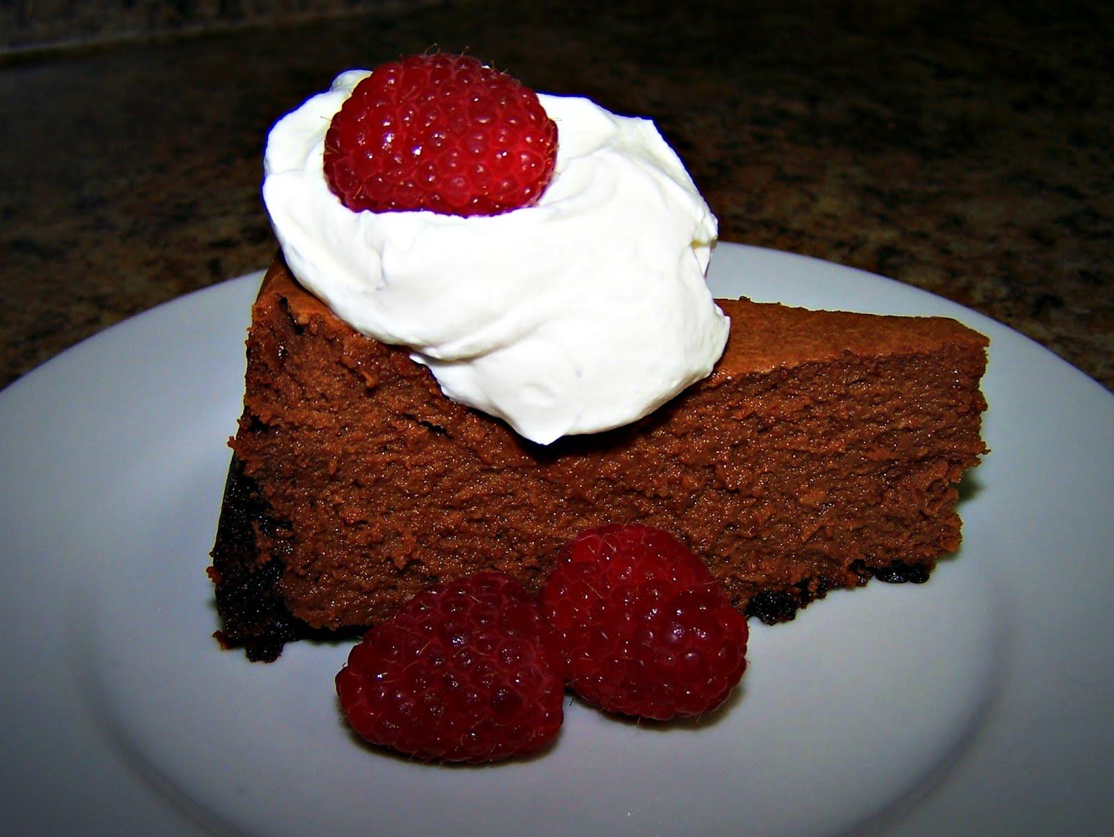 Bread & Wine: Fudge Truffle Cheesecake