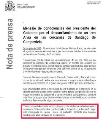 Alvia, tragedia de tren de Santiago
